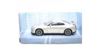 Nissan GT-R 2011 gris escala 1/43 Mondo Motors Coche metal