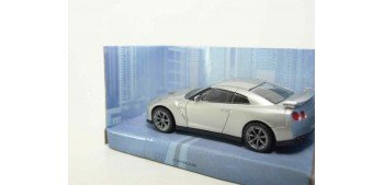 Nissan GT-R 2011 gris escala 1/43 Mondo Motors Coche metal miniatura Mondo Motors