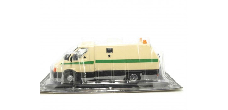 GAZ 3302 GAZEL RATNIK BLINDADO RUSO escala 1/43 coche metal miniatura Dea, Deagostini
