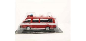 miniature car RAF AL 22034 bus VEHÍCULO DE BOMBEROS-RUSIA