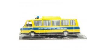 miniature car ZIL 118KL Autobús Ruso Policía Laboratorio