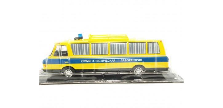 ZIL 118KL Autobús Ruso Policía Laboratorio Criminal escala 1/43