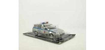 coche miniatura Lada 112 Policía Rusa escala 1/43 coche metal