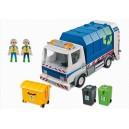 <h2>MARCA:<strong>Playmobil</strong></h2> <h2>MODELO: Camión de Reciclaje con Luces</h2>