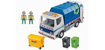 lead figure Playmobil - Camión de Reciclaje con Luces