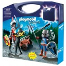 """<p>MARCA:<strong>Playmobil</strong></p> <p>MODELO:<strong>Maletín Caballeros - Knights</strong></p> <p><strong><a class=""""btn btn-default"""" href=""""https://www.selegnajuguetes.es/es/otros-articulos/playmobil/"""">SI QUIERE VER MÁS MODELOS PLAYMOBIL</a></strong></p>"""