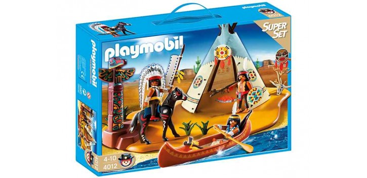 Playmobil - SuperSet Campamento Indio - 4012