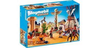 Playmobil - Campamento Indio con Tótem - 5247