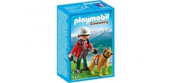 Playmobil - Rescatador de Montaña con Perro