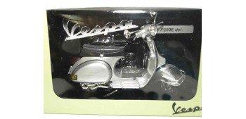 Vespa P200E gris escala 1/12 moto metal miniatura moto a escala 1/12