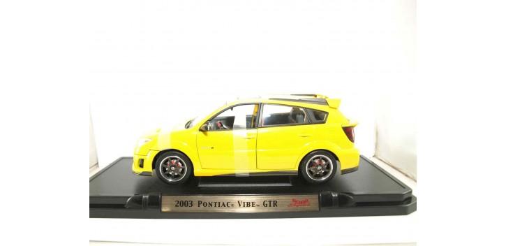 PONTIAC VIBE GTR 2003 AMARILLO 1/18 YATMING