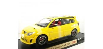 Pontiac Vibe Gtr 2003 amarillo escala 1/18 Yat Ming coche miniatura metal