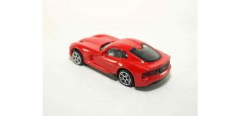 coche miniatura Dodge Viper Gts Srt escala 1/43 Burago Coche