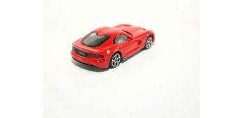 Dodge Viper Gts Srt escala 1/43 Burago Coche metal miniatura sin caja