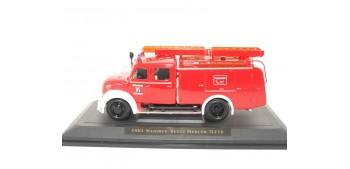 miniature truck MAGIRUS-DEUTZ MERCUR TLF16 1961 - 1/43 YAT MING