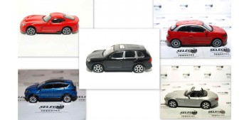 Lote 5 coches (2) escala 1/43 Burago Coche metal miniatura