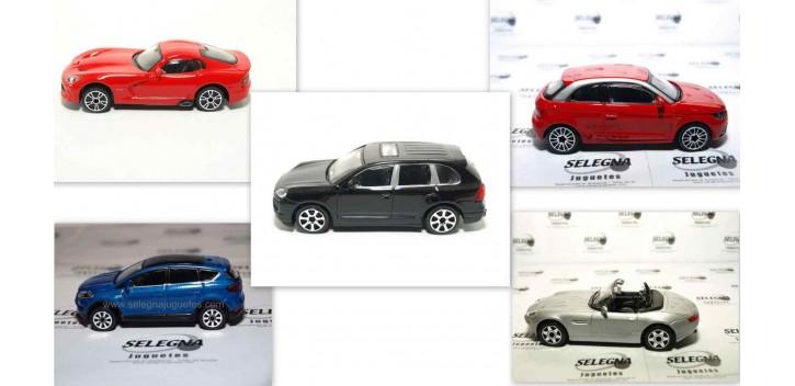 Lote 5 coches (1) escala 1/43 Burago Coche metal miniatura