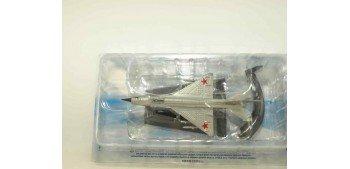MIG-21 FISHBED RUSSIA USRR (escala 1-123) Avion de plástico