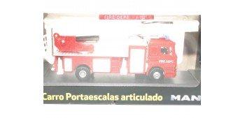 lead figure Camión Bomberos Escalera Man escala 1/72 Joycity