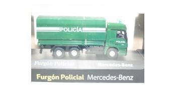 Camión Furgón Policial Mercedes Benz escala 1/72 Joycity Joycity