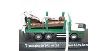 Camión Mercedes Benz Transporte Forestal escala 1/72 Joycity Joycity