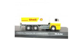 lead figure Camión Cisterna Combustible Shell escala 1/72
