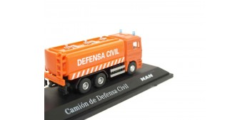 Camión Defensa Civil Man escala 1/72 Joycity