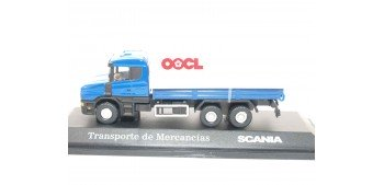 lead figure Camión Transporte de Mercancia Scania escala 1/72