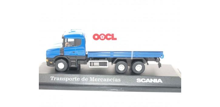 Camión Transporte de Mercancia Scania escala 1/72 Joycity Truck miniatures