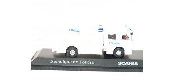 lead figure Camión Remolque Policía escala 1/72 Joycity