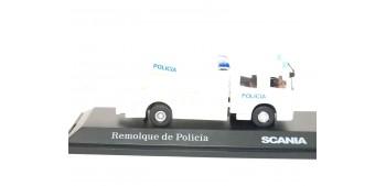 Camión Remolque Policía escala 1/72 Joycity