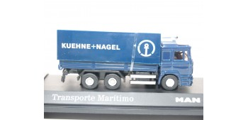Camión Transporte Maritimo Kuehne - Nagel Man escala 1/72 Joycity