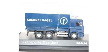 Camión Transporte Maritimo Kuehne - Nagel Man escala 1/72 Joycity 1:72 Truck