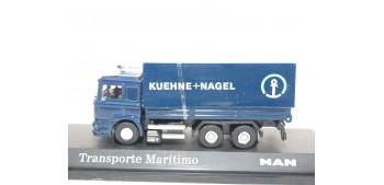 Camión Transporte Maritimo Kuehne - Nagel Man escala 1/72 Joycity Camión a escala 1/72