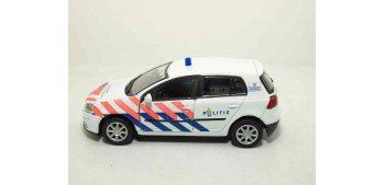 Volkswagen Golf V Holanda auto policia escala 1/36 - 1/38 Welly