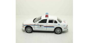 Jaguar S-Type 99 Canadá auto policia escala 1/36 - 1/38 Welly coche metal miniatura