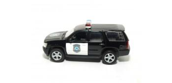 Chevrolet Tahoe 08 Usa - California auto policia escala 1/36 - 1/38 Welly