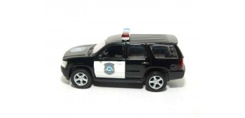 Chevrolet Tahoe 08 Usa - California auto policia escala 1/36 - 1/38 Welly