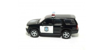 Chevrolet Tahoe 08 Usa - California auto policia escala 1/36 - 1/38 Welly coche metal miniatura