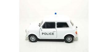 Mini Cooper 1300 Inglaterra - Londres auto policia escala 1/36 - 1/38 Welly