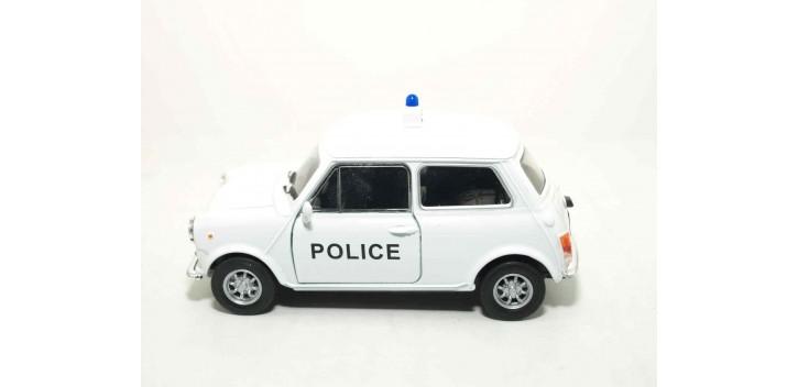 Mini Cooper 1300 Inglaterra - Londres auto policia escala 1/36 - 1/38 Welly coche metal miniatura