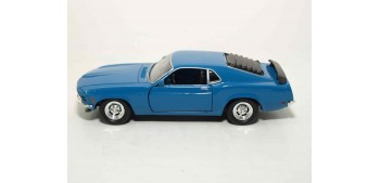 miniature car Ford Mustang Boss 302 escala 1/36 - 1/38
