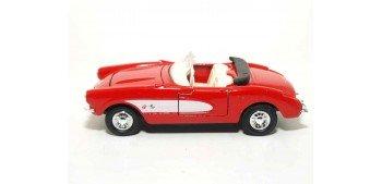 miniature car Chevrolet Corvette 1957 escala 1/36 - 1/38