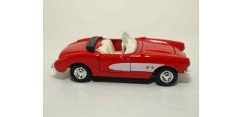coche miniatura Chevrolet Corvette 1957 escala 1/36 - 1/38