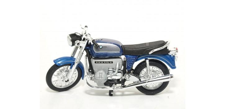 Bmw 75 5 escala 1/18 Welly moto Welly