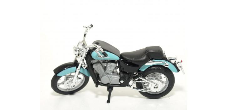 moto miniatura Honda Shadow VT1100C escala 1/18 Welly moto