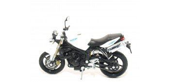 Triumph Street Triple escala 1/18 Welly moto Welly