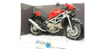 Ducati Monster S4 roja escala 1/12 new ray moto miniatura escala