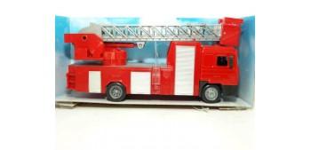 camion miniatura Man F2000 Escaleras camión bomberos escala