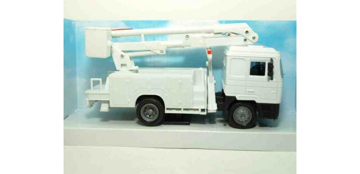 camion miniatura Man F2000 Grua servicio camión escala 1/43 New